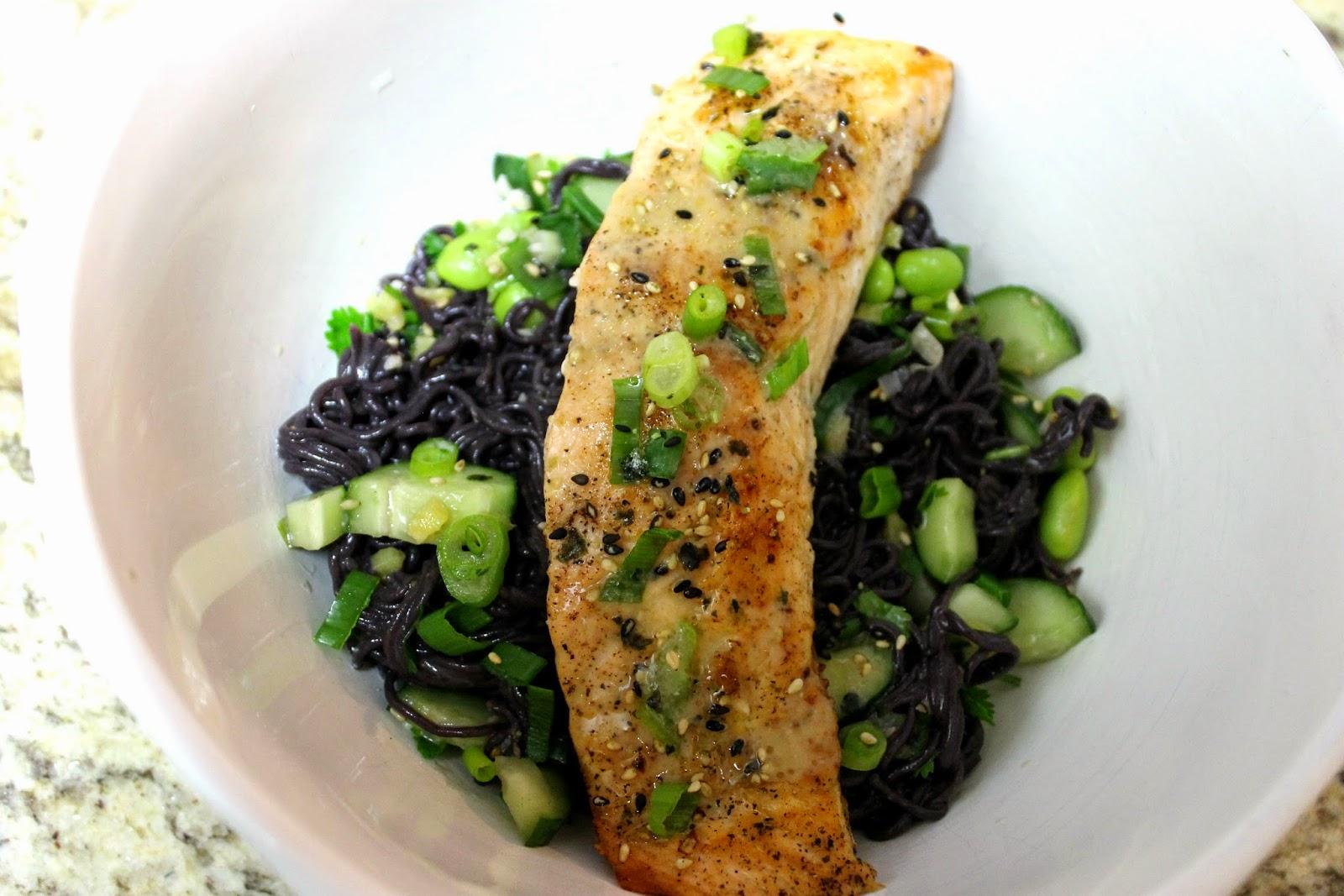 Blue Apron Delivery Service Furikake Salmon