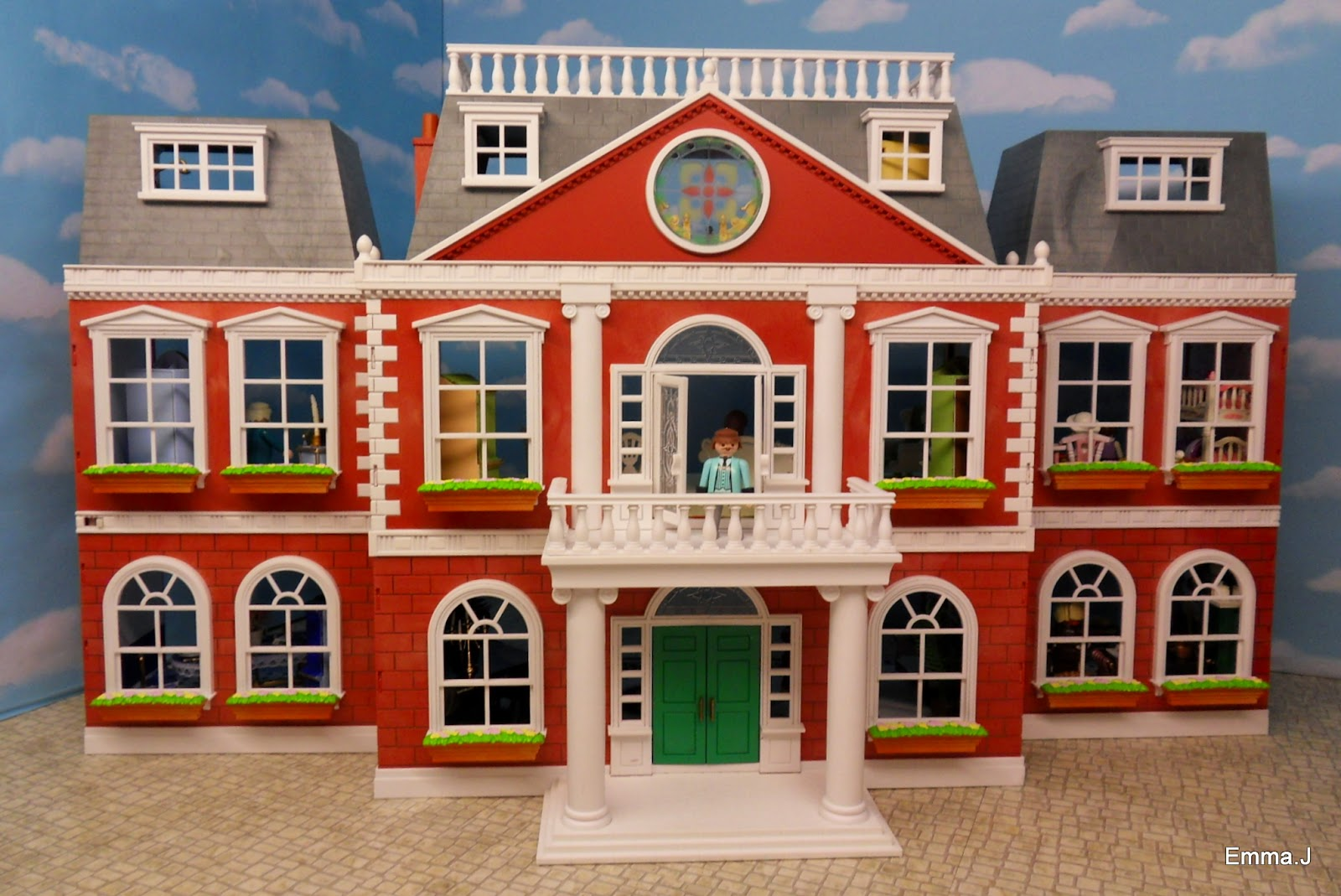 Red Square Mansion For Sale Emma J 39 S Playmobil