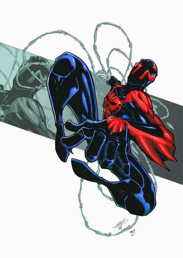 Miguel o'hara, el Spiderman del futuro de la línea Marvel 2099.