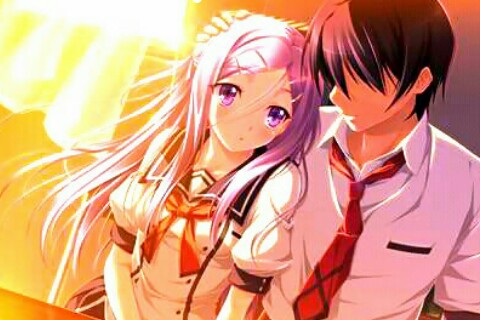 Wallpaper Anime Romantis