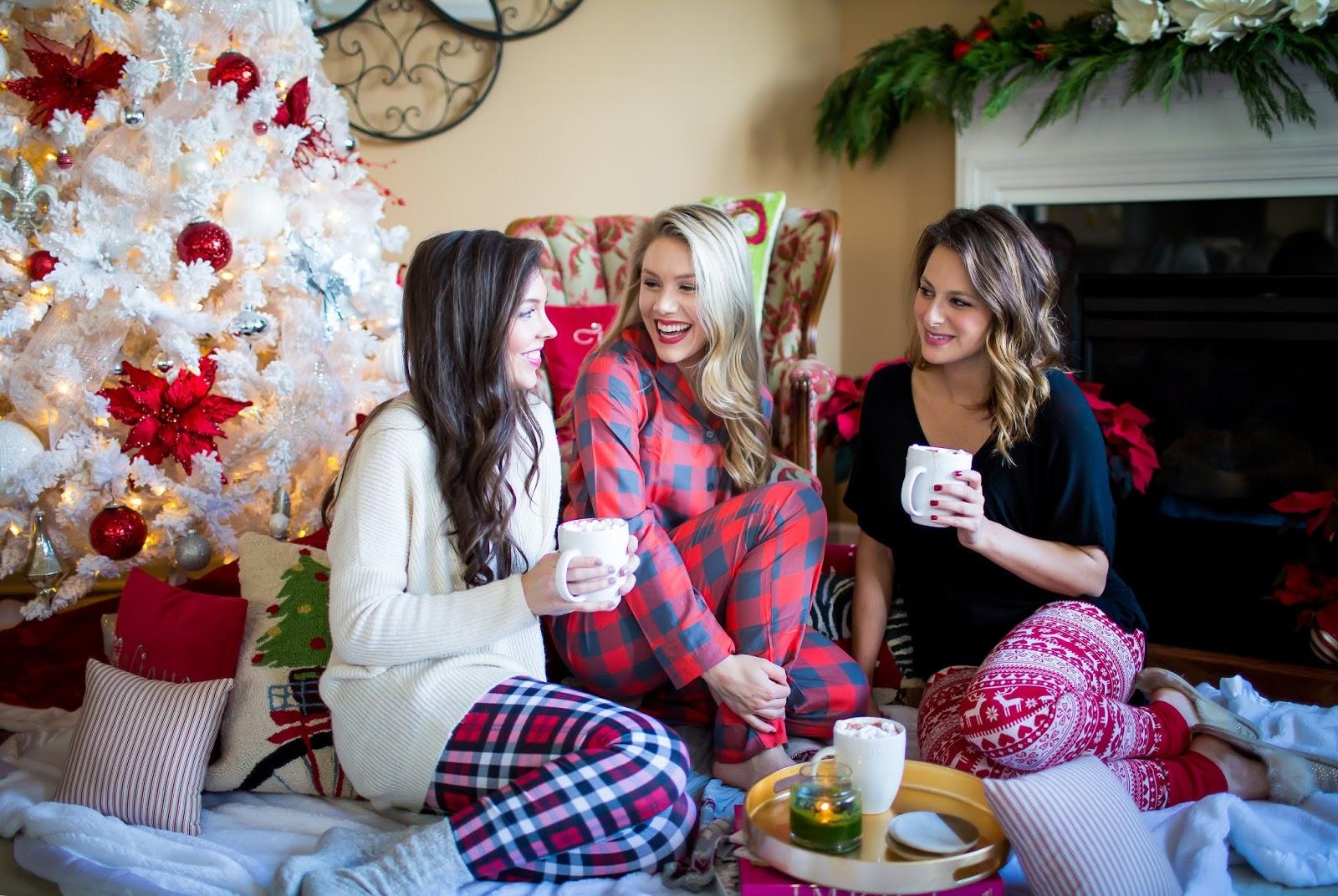 cozy christmas sleepover southern style a life style blog - Nordstrom Christmas Pajamas