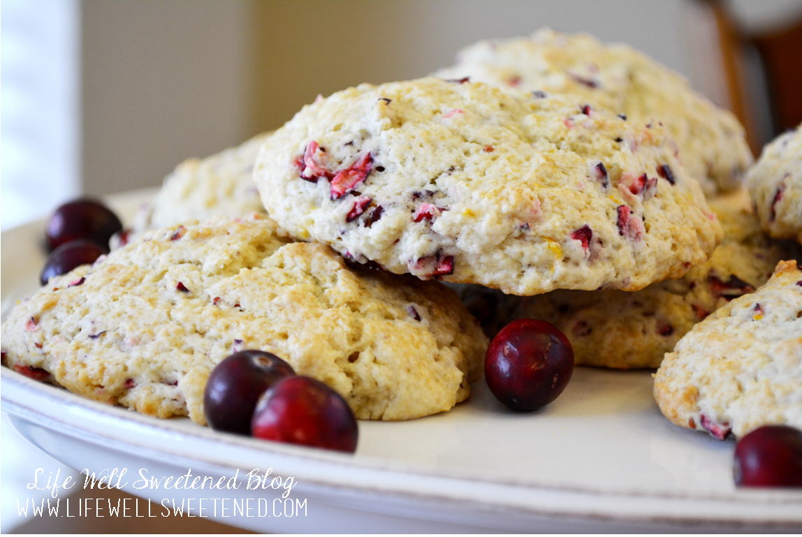 Cranberry Orange Buttermilk Cookies Recipe — Dishmaps