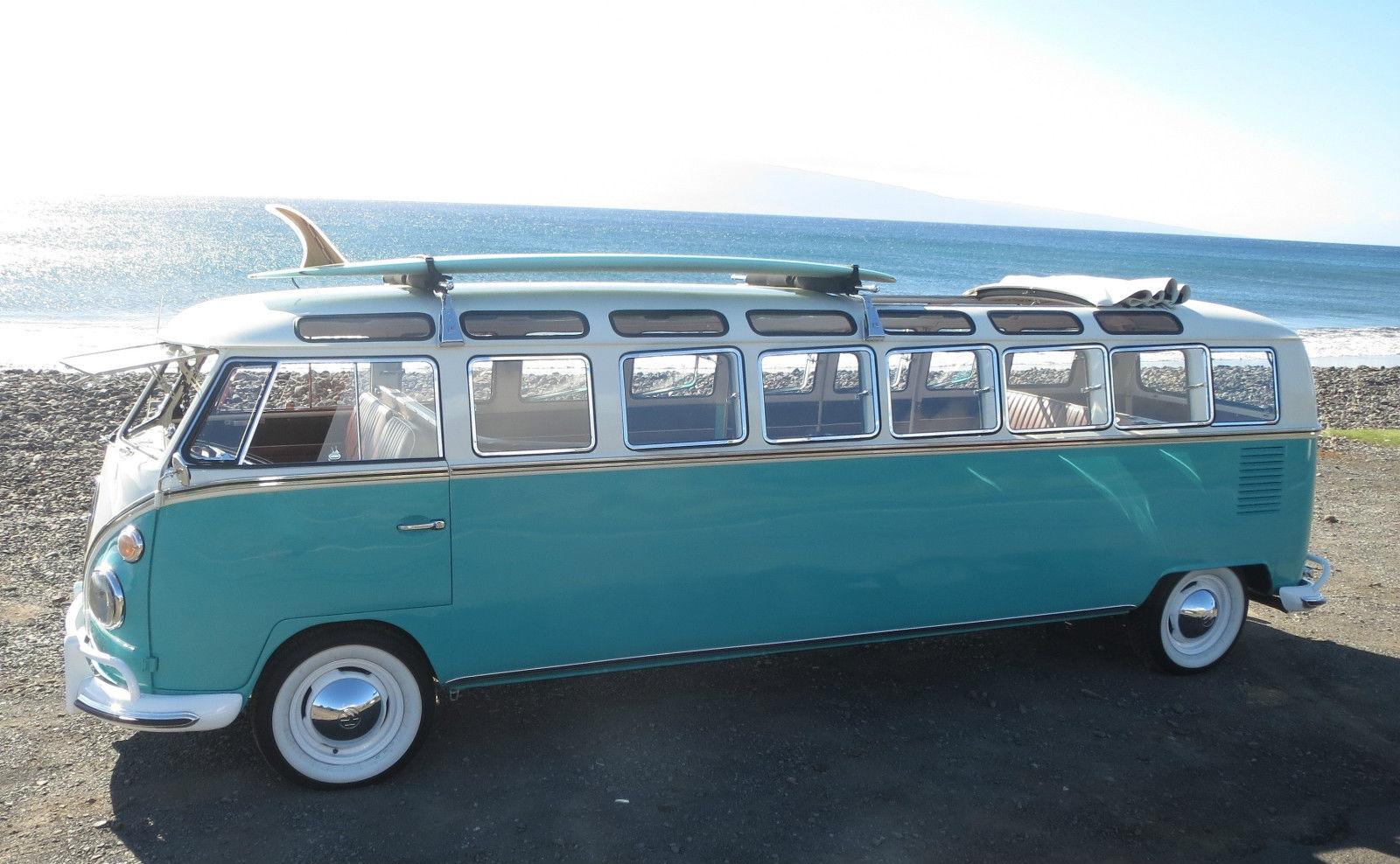 Die zweite geniale Ebay Auktion in diesem Jahr - Ein 1965 Volkswagen Bully als getunte Stretch-Microbus-Limousine ( 7 Bilder )