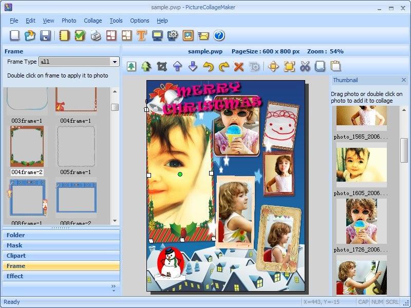 Picture collage maker 2.5 7 build 3314