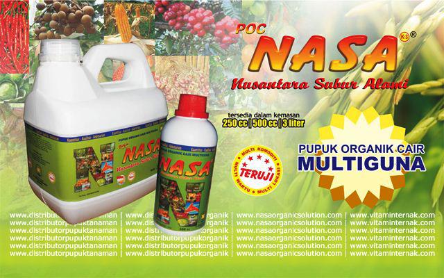 Pupuk Organik Cair NASA - Pupuk Organik Multifungsi Hasil Karya Anak Bangsa