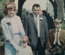 My family in 1969