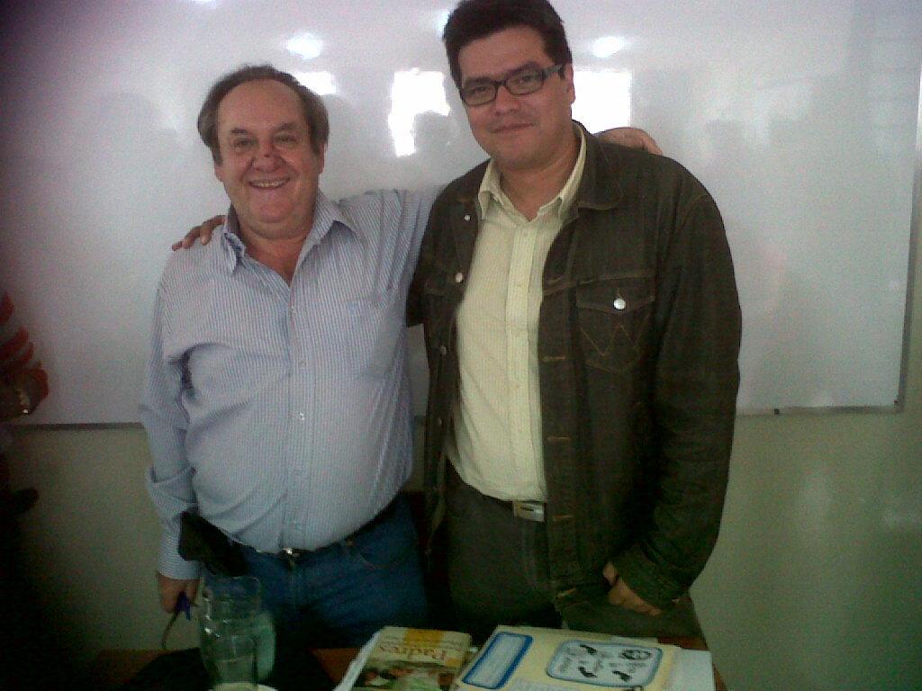 Antonio Pérez Esclarín y Julio Alexander Parra