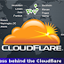 How to find IP Address behind Cloudflare