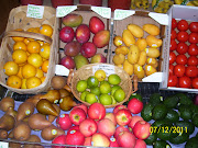 Fresh Organic Fruit &amp; Veg