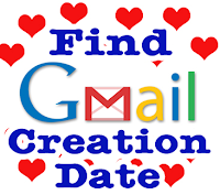Find Gmail Creation Date