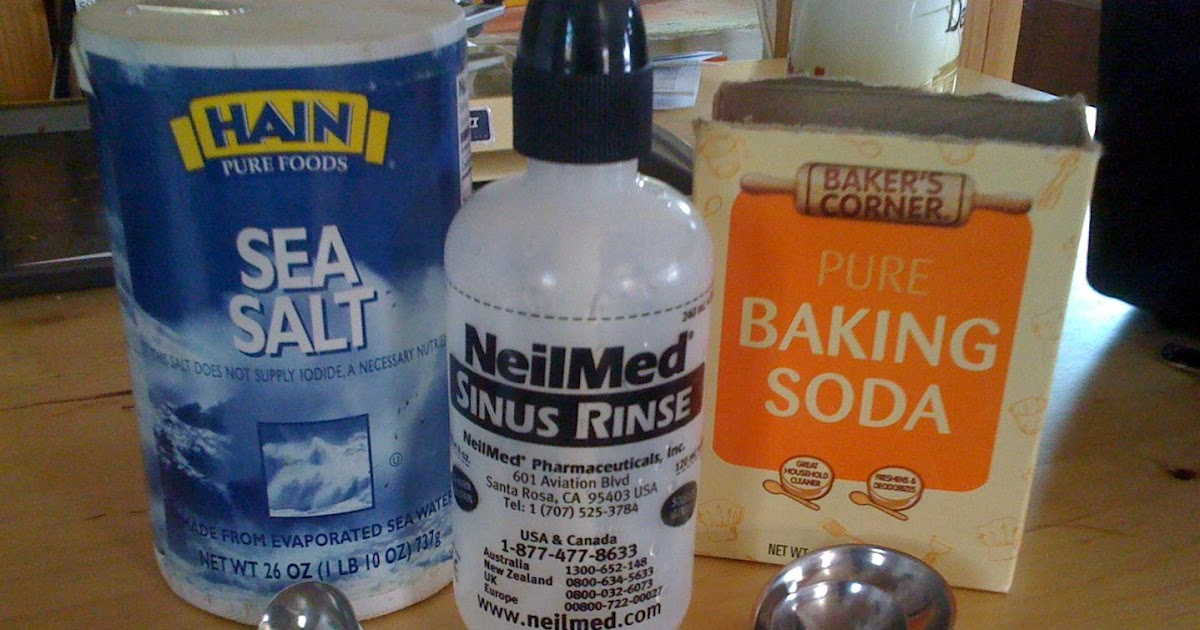 how to make salt water rinse