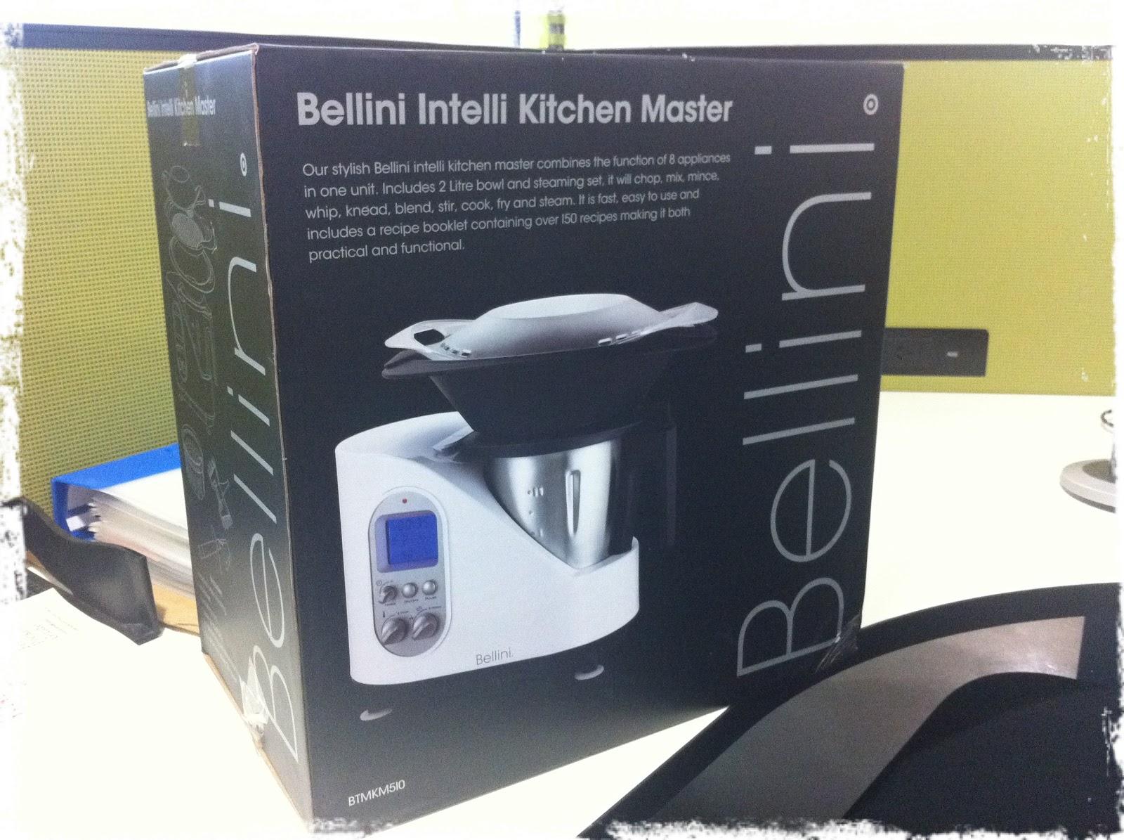 Bellini Intelli Kitchen Master Recipes