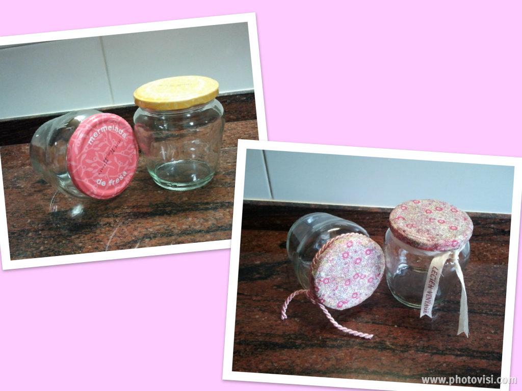Las ideas de mirna tarros de cristal con la tapa forrada - Tarros de cristal con tapa ...