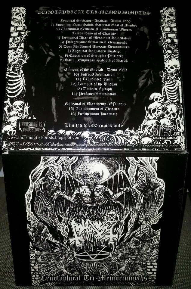 ABHORER''cenotaphical tri-memoriumyths''-digipack cd