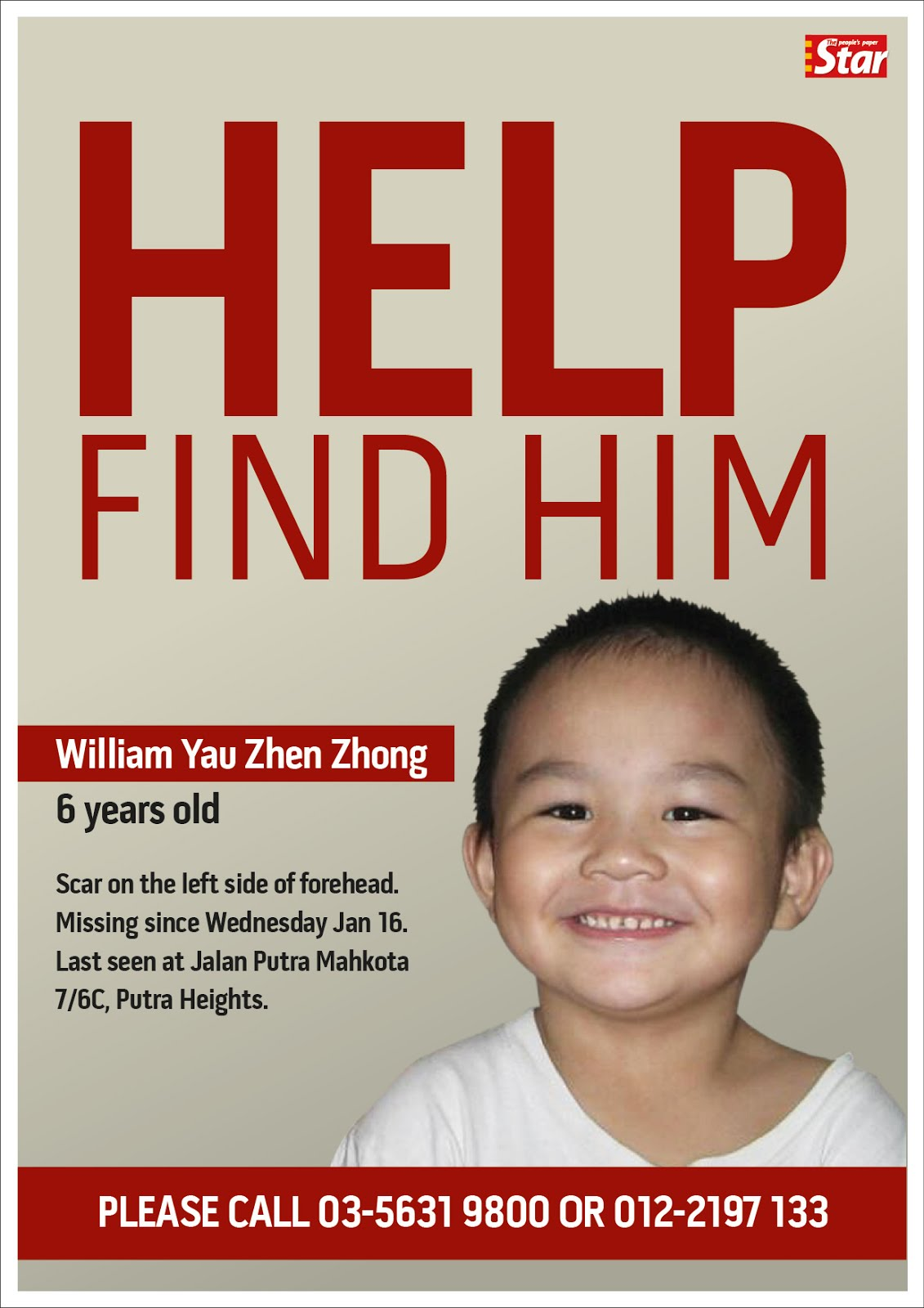 Missing People -- Thailand