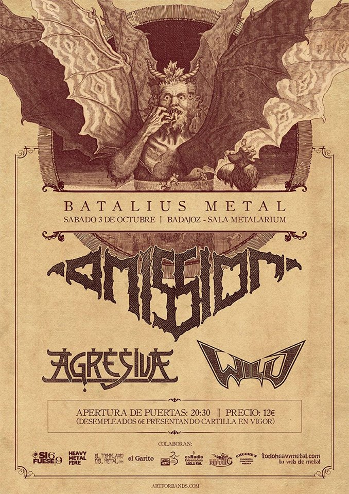 BATALIUS METAL EN BADAJOZ