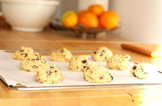 Cookies avant de les mettre au four