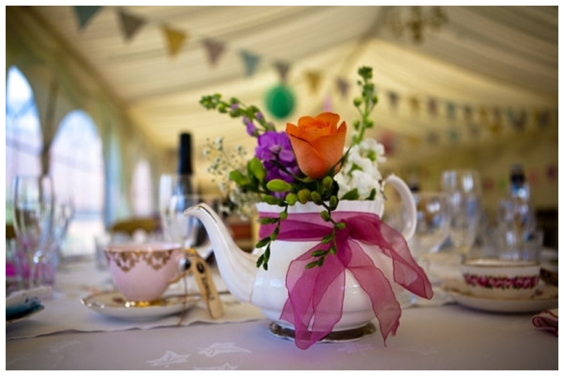 Real Marquee Tea Party Wedding Holly Jason Reception Details