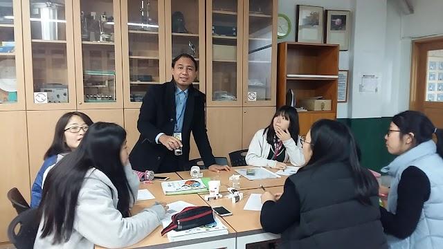 80 Hari di Korea : Hari 63 (Mengajar Sains & Sambutan Pepero Day)
