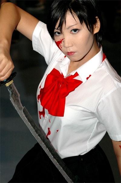 Saya Otonashi Cosplay