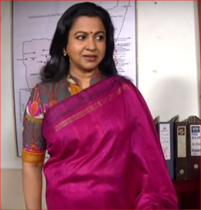 Plain saree with border designs how to design a plain saree at home - Models Of Blouse Designs Radhika In Collar Neck Blouse At