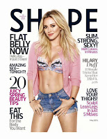 Hilary Duff showing off herfitbody