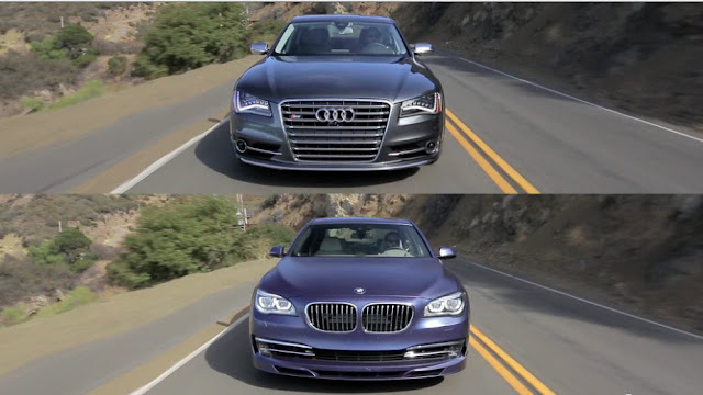 Audi S8 vs BMW Alpina B7