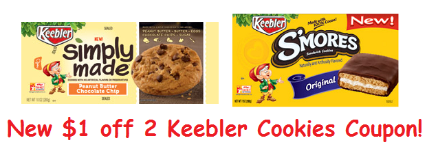 New Coupon: $1/2 Keebler Cookies