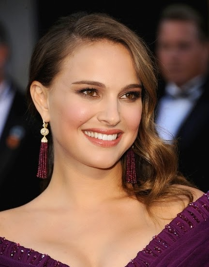ruby earrings worn by celebrities