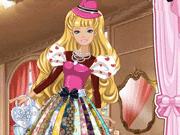 Barbie Valentine Patchwork Dress