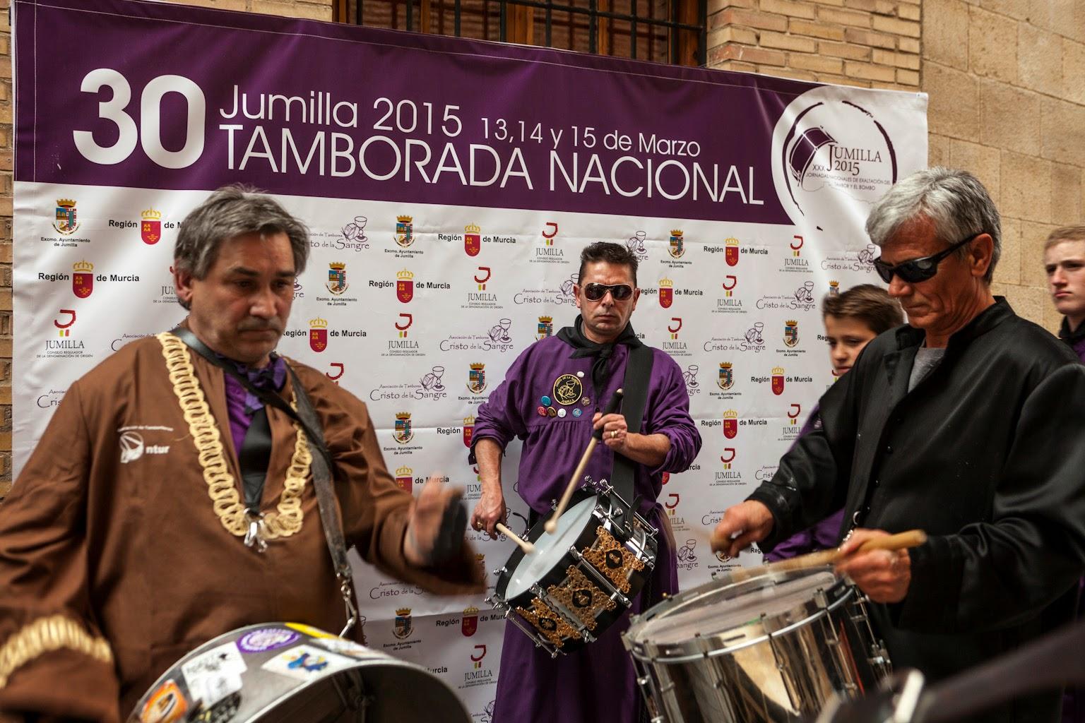 Tamborada Nacional, Calanda, Jumilla