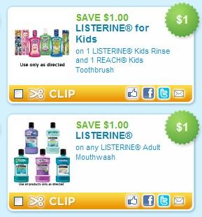 Listerine coupon target