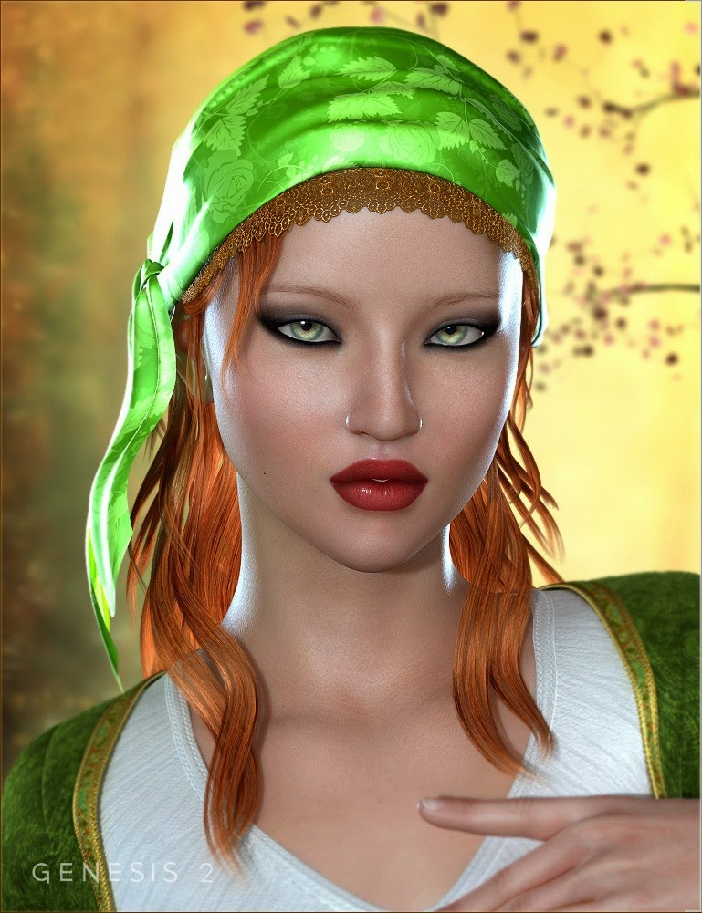 Gypsy cheveux pour Genesis 2 Femme