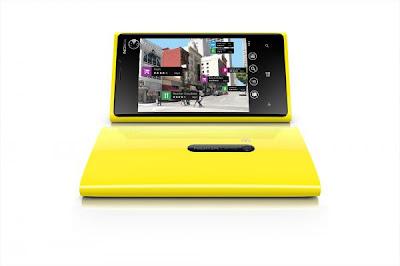 Yellow nokia Lumia 920