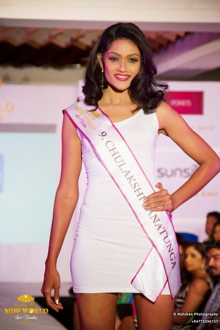 Siyatha - Lux Miss World Sri Lanka '14