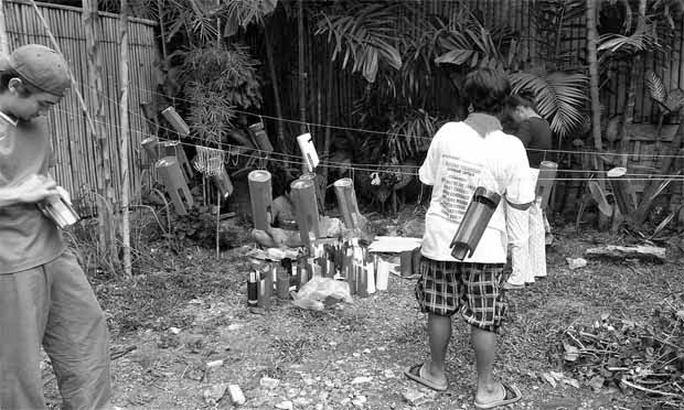 Parlante de Bambú para Smartphones