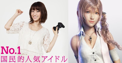 AKB48's Yuko Oshima to Cosplay for Final Fantasy XIII-2 Launch