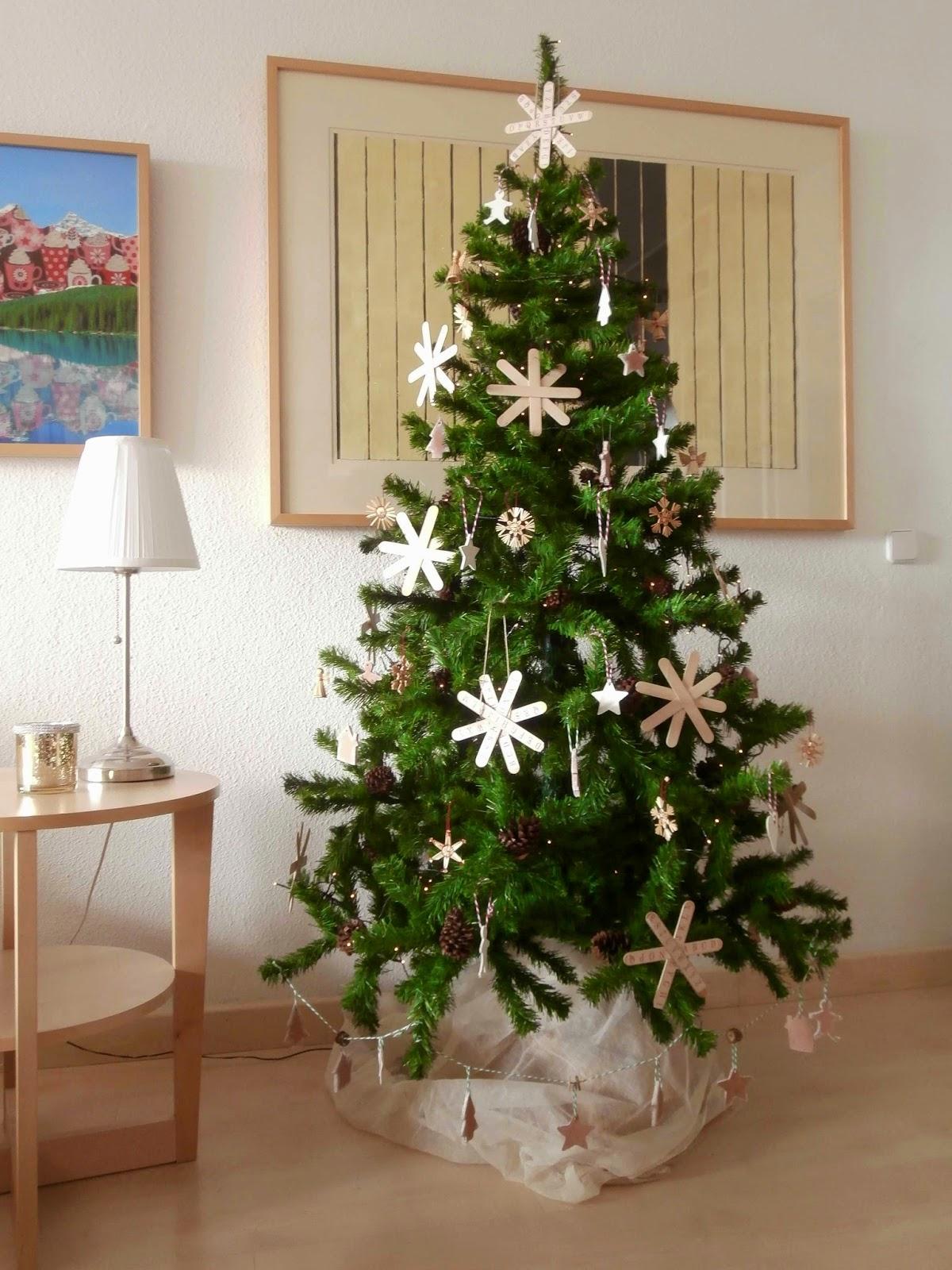 Lalibelula adornos para el arbol de navidad hechos con - Arbol de navidad adornos ...