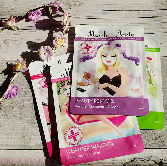 Sheet Face Masks from MaskerAide