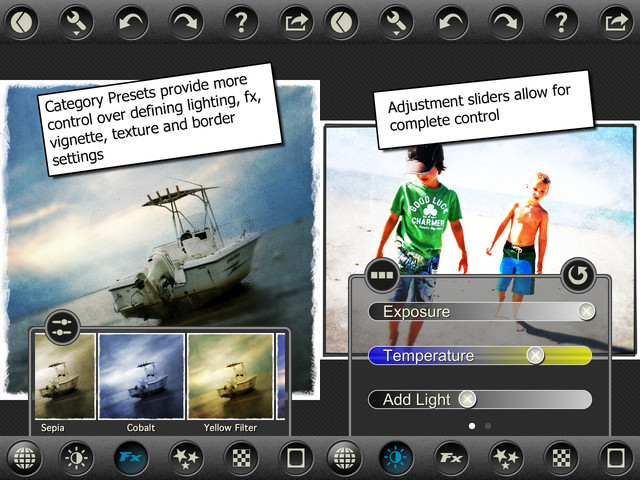 Top Best Mobile apps for photographers PhotoToaster
