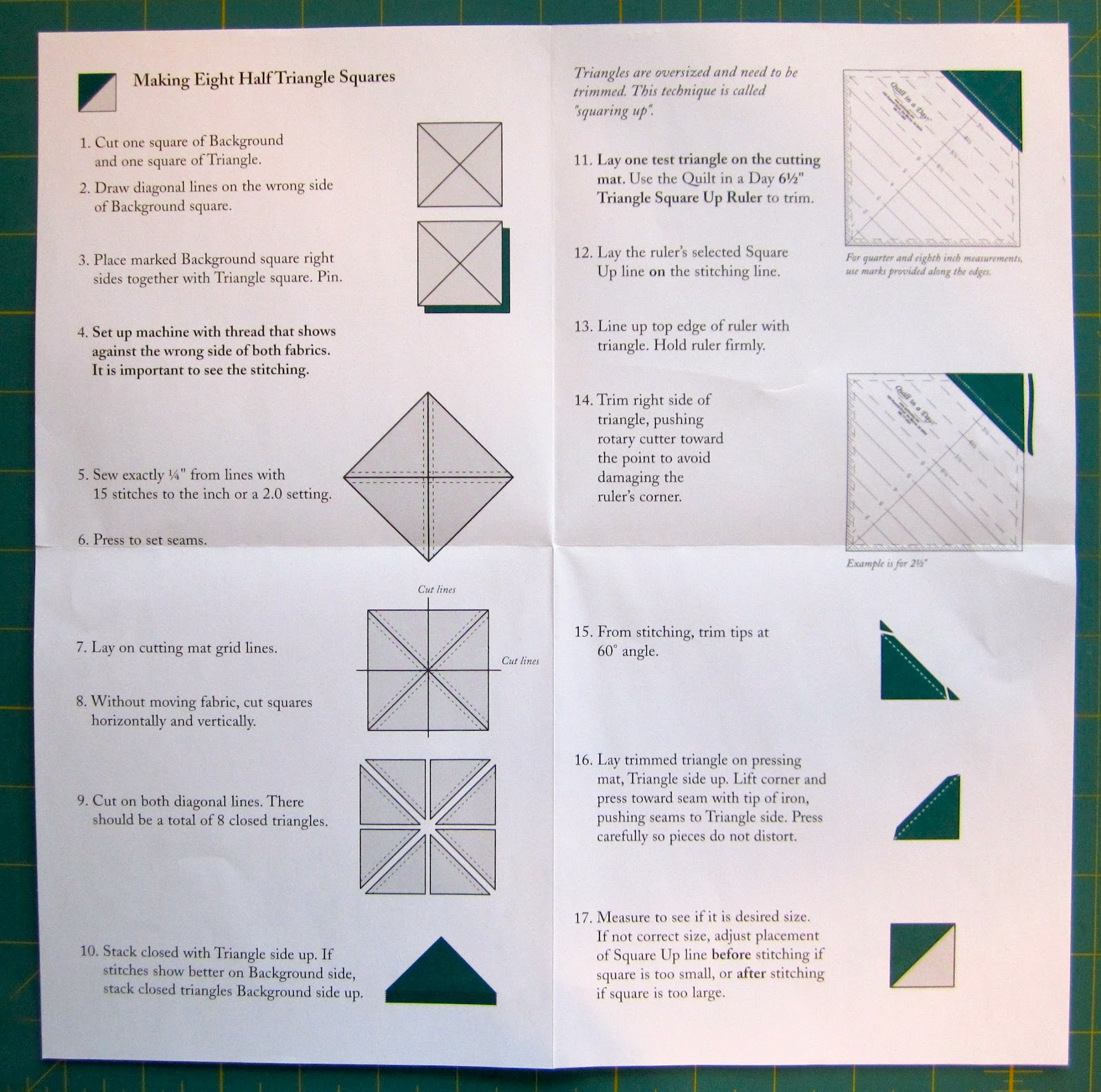 eleanor burns flying geese instructions
