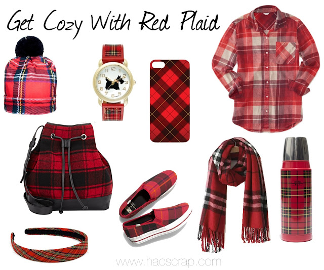Red Plaid Accessories and Clothing to Up Your Style Right Now