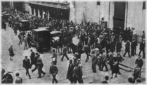 La grande crisi degli anni trenta - ugo pettenghi