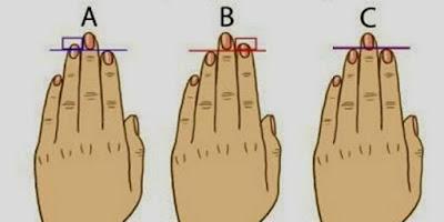 Cara Mengetahui Kepribadian Seseorang dari Jari tangan