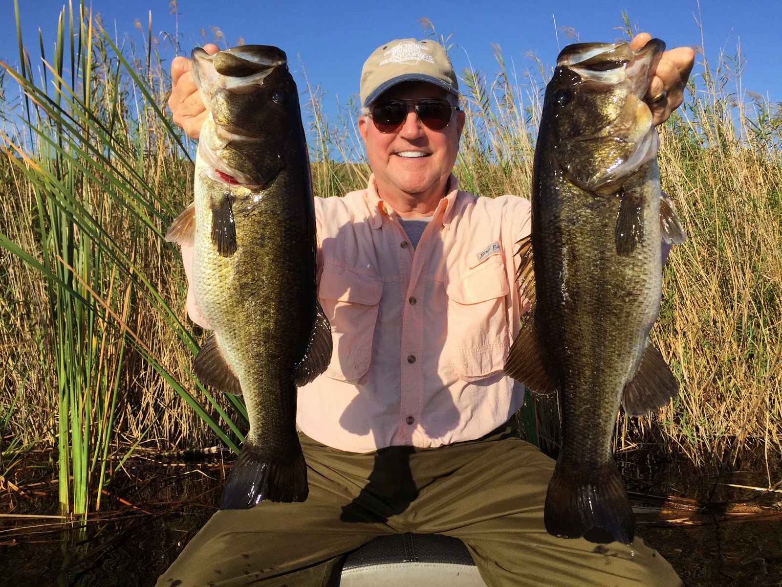 Springtime bass fishing lake okeechobee bass fishing at for Lake okeechobee fishing guides