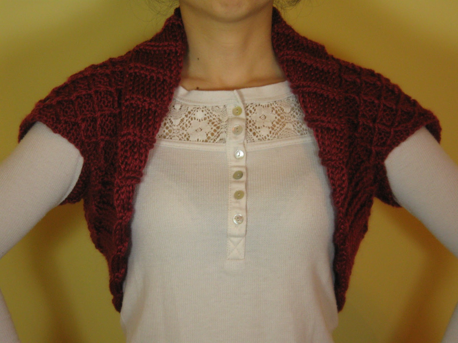 Crochet Machine: Short sleeve bolero