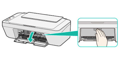 Cambiar cartuchos impresora Canon MG-2555
