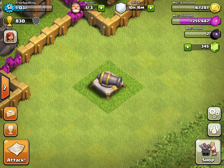 Cannon - Defense - Clash Of Clans Guide - FreeApps.ws