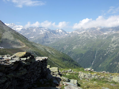 Ober Stafel above the Turtmanntal