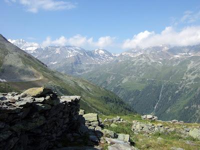 Ober Stafel above the Turtmanntal